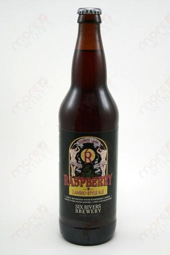 Six River Brewery Raspberry Lambic 22fl oz