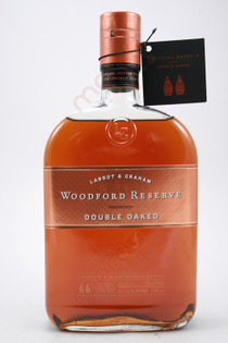 Woodford Reserve Double Oaked Kentucky Straight Bourbon Whiskey 750ml