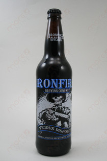 Ironfire Vicious Disposition Imperial Porter 22fl oz
