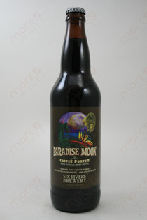 Six River Brewery Paradise Moon Coffee Porter 22fl oz