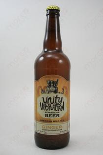 Unity Vibration Kombucha Ginger Beer 22fl oz