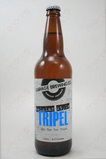 Garage Brewing Co Belgian Style Triple 22fl oz