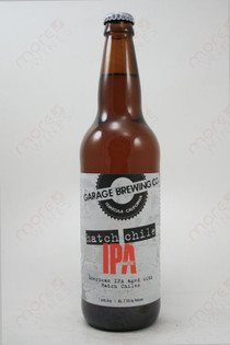 Garage Brewing Co Hatch Chile IPA 22fl oz