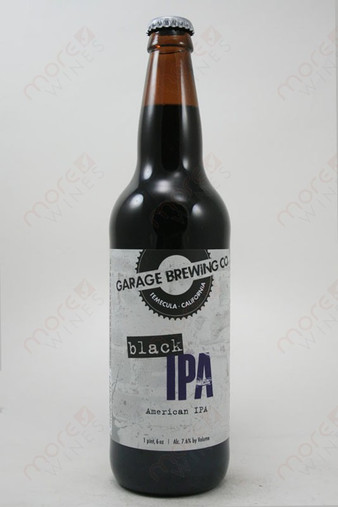 Garage Brewing Co Black IPA 16.6fl oz