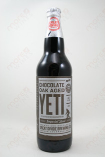 Great Divide Brewing Chocolate Oak Aged Yeti Imperial Stout 22fl oz