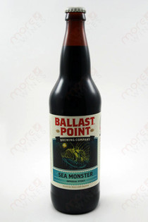 Ballast Point Imperial Stout Sea Monster 22fl oz