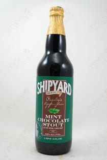 Shipyard Mint Chocolate Stout 22fl oz