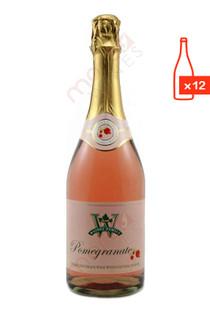 Weibel Vineyards Pomegranate Sparkling Wine Case Free Ship
