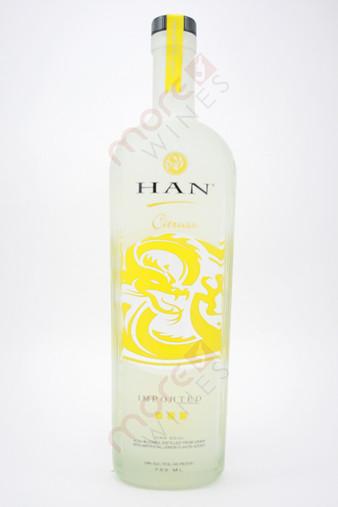 Han Citruss Soju Asian Vodka 750ml