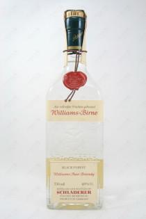 Schladerer Black Forest Williams-Birne Williams Pear Brandy 750ml