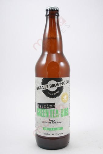 Garage Brewing Co. Jasmine Green Tea-Bird Lager 22fl oz