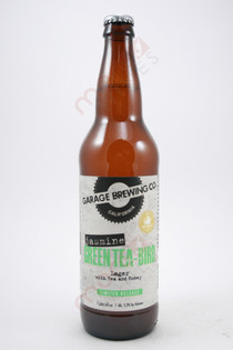 Garage Brewing Co. Jasmine Green Tea-Bird Lager 22fl oz