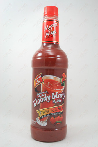Master of Mixes 5 Pepper Extra Spicy Bloody Mary Mix 1L