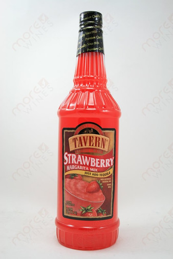 Tavern Strawberry Margarita Mix 1L