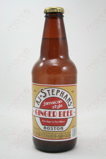 AJ Stephans Ginger Beer 12fl oz