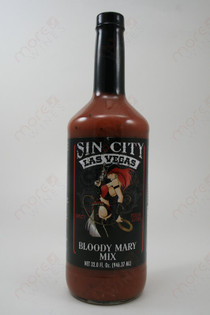 Sin City Bloody Mary Mix 1L