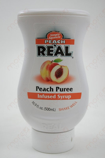 Real Peach Puree Infused Syrup 500ml