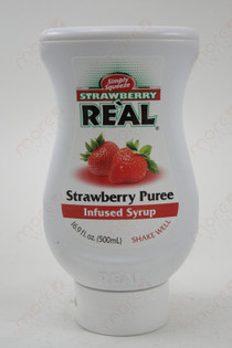 Real Strawberry Puree Infused Syrup 500ml