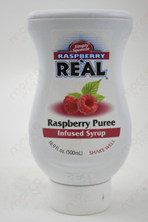 Real Raspberry Puree Infused Syrup 500ml