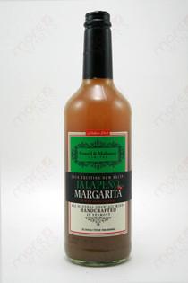 Powell & Mahoney Limited Jalapeno Margarita Cocktail mixer 750ml