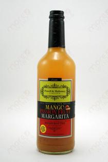 Powell & Mahoney Limited Mango Passion Fruit Margarita Cocktail mixer 750ml
