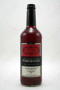 Powell & Mahoney Limited Pomegranate Cocktail mixer 750ml