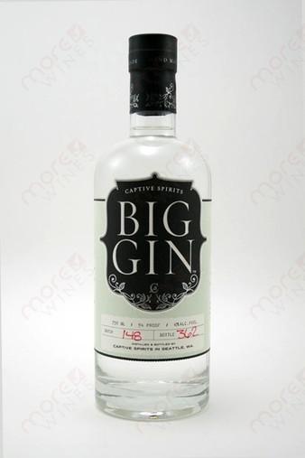 Big Gin Captive Spirits 750ml.