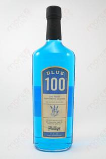 Phillips Blue 100 Peppermint Liqueur 750ml