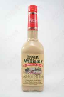 Evan Williams Peppermint Chocolate Egg Nog 750ml