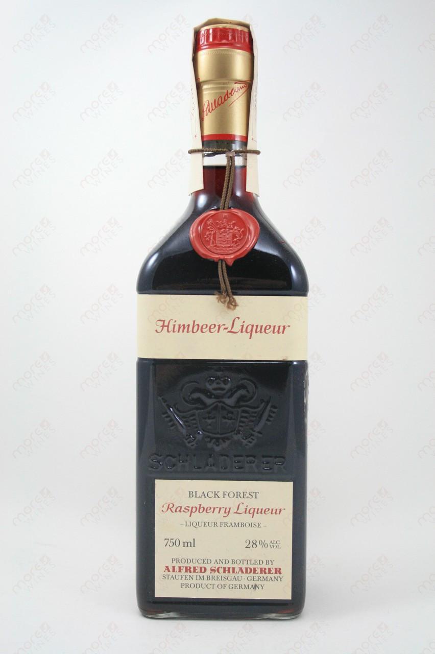 Schladerer Black Forest Himbeer Liqueur Raspberry Liqueur 750ml