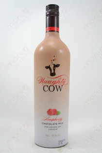 Naughty Cow Raspberry 750ml