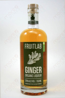 Greenbar Fruitlab Ginger Organic Liqueur 750ml