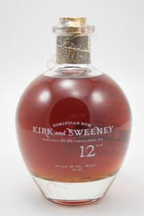 Kirk and Sweeney 12 Year Old Rum 750ml