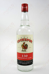 Cockspur 130 Overproof Rum 750ml