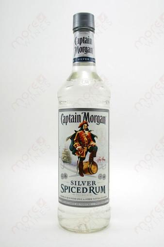 Captain Morgan Silver Spiced Rum 750ml