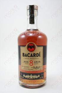 Bacardi Reserva Superior Ron 8 Anos Rum 750ml