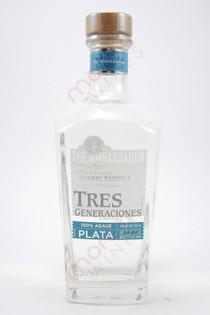 Tres Generaciones Plata Tequila 750ml