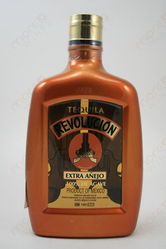 Revolucion Extra Anejo Tequila 750ml