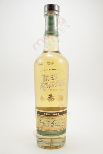 Tres Agaves Reposado Tequila 750ml