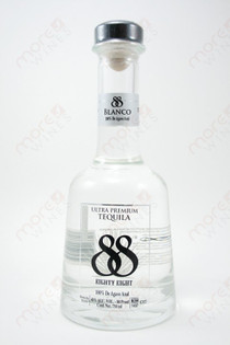 88 Ultra Premium Tequila Blanco 750ml
