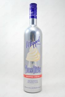 Three Olives Whipped Cream Vodka 750ml