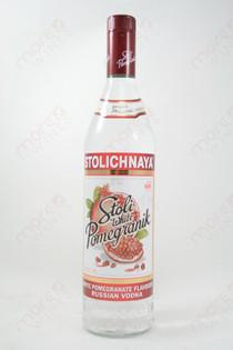 Stolichnaya White Pomegranik Vodka 750ml