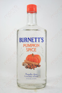 Burnett's Pumpkin Spice Vodka 750ml