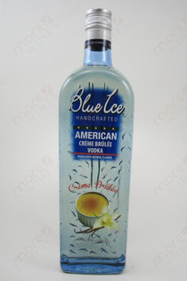 Blue Ice Creme Brulee Vodka 750ml