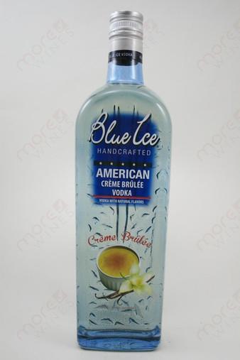 Blue Ice Creme Brulee Vodka 750ml
