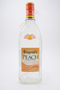 Seagram's Peach Vodka 750ml