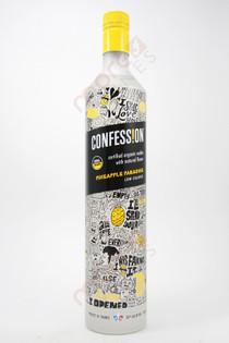 Confession Organic Pineapple Paradise Vodka 750ml