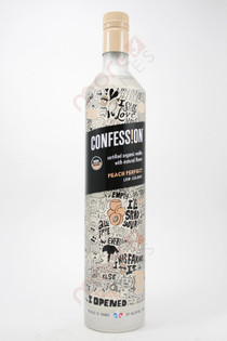 Confession Organic Peach Perfect Vodka 750ml