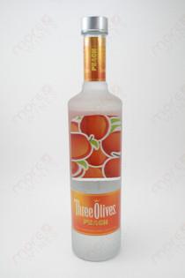 Three Olives Peach Vodka 750ml