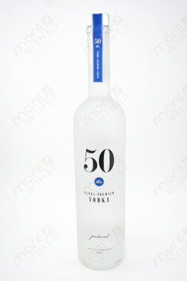 50 Bleu Ultra Premium Vodka 750ml